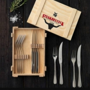 WMF 福腾宝 Steakbesteck系列 不锈钢餐叉12件套新低207.97元