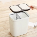 KINBATA 家用双桶分类垃圾桶 15L *2件 65.2元包邮(合32.6元/件)¥65