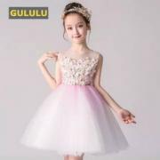 GULULU 2019新款韩版儿童蓬蓬纱公主裙