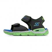 19日0点:SKECHERS 斯凯奇 97520L 男童魔术贴凉鞋 *2件 298元包邮(需用券,合149元/件)¥298