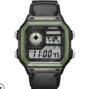CASIO 卡西欧 AE-1200WH-1B 户外运动防水男士电子手表 199元(需用券)
