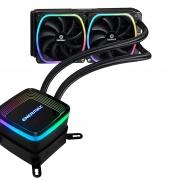 Enermax Aquafusion 240mm RGB水冷散热器开箱及详细测试