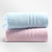 KINGSHORE 金号 纯棉毛巾 70*33.5cm 2条装 12.8元包邮(需用券)