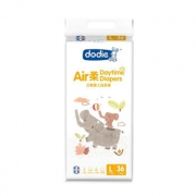 Dodie Air柔 婴儿纸尿裤 L36片 日用  *6件 458元包邮(需用券,合76.33元/件)