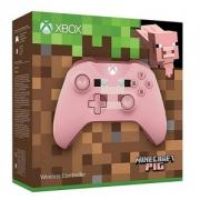 PRIMEDAY特价,Microsoft 微软 Xbox One 无线手柄《我的世界》粉色小猪限定版