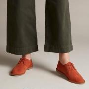 限UK3码,Clarks 其乐 19年新款 Erin Weave 女士 英伦休闲 系带真皮单鞋