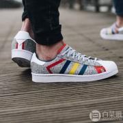 adidas Originals 阿迪达斯 × White Mountaineering Superstar 男士联名款运动鞋 折后$34.12(下单7.5折)