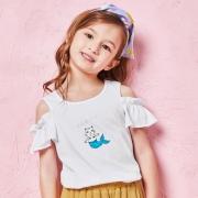 巴拉巴拉 女童短袖T恤
