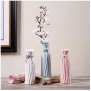 Hoatai Ceramic 华达泰陶瓷 现代简约陶瓷花瓶 20.3cm A款
