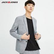 JackJones杰克琼斯 男士棉麻西服外套150元包邮