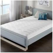 Zinus(际诺思)宜家风格卧室 床垫 20cm厚天然乳胶折叠护脊双人褥弹簧床垫 爱琴海M2