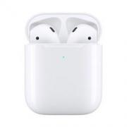 Apple 苹果 新AirPods(二代)无线蓝牙耳机 无线充电盒版1188元包邮