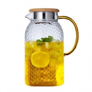 6日10点:yuewoo 悦物 玻璃冷水壶 1L
