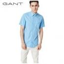 GANT 甘特 347311 男士短袖衬衫129元包邮(需用券)