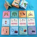 儿童早教彩色高质量拼音卡113张¥5