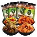 秋味坊 豇豆+芥菜+萝卜+榨菜下饭菜 4瓶19.9元包邮(需用券)