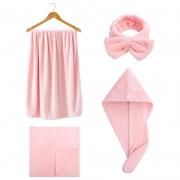 洁丽雅(grace) 毛巾浴巾 两件套  券后24.9元¥25