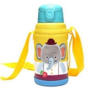 LOCK&LOCK 乐扣乐扣 LHC1435EPT 儿童保温杯带吸管 550ml 大象图案129元