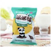 Orion 好丽友 营养早餐点心零食 注心 下午茶 熊猫派派福巧克力味8枚200g/盒17.01元
