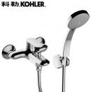 KOHLER 科勒 K-99460T 珂美挂墙式浴缸花洒龙头套装 559元包邮(需用券)¥559