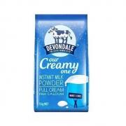Devondale 德运 全脂成人奶粉 1kg41.9元包邮(需用券)