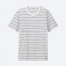 16日0点:UNIQLO优衣库414408SUPIMACOTTON男士条纹T恤39元包邮