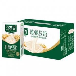 京东PLUS会员:豆本豆 唯甄豆奶 250ml*24盒 *3件