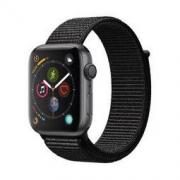 Apple Watch Series 4智能手表(GPS款 44毫米深空灰色铝金属表壳 黑色回环式运动表带 MU6E2CH/A)