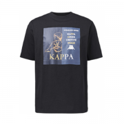 Kappa卡帕 情侣男女款夏季运动印花短袖休闲T恤 风尚价89¥89
