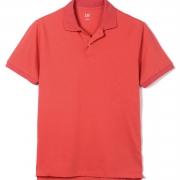 Gap男装纯色短袖Polo衫 风尚价格69