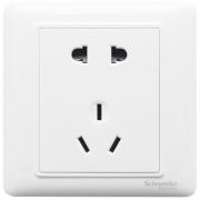 Schneider Electric 施耐德 睿意系列 五孔插座 白色 1支 4.91元包邮(需用券)