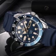 SEIKO 精工 SRP605J2 男士机械手表(赠送钢链表带) 1299元包邮(需用券)