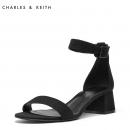 CHARLES&KEITH CK1-60390307 女士一字扣凉鞋 199元¥199