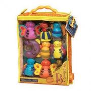 B.toys 小虫串串连 牙胶 固齿器 斯纳格软积木玩偶 10个月以上