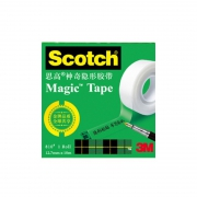 3M 思高 810Scotch 神奇隐形粘字胶带 12.7mm*10米 2卷 6.2元包邮(需用券)