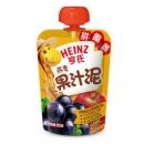 Heinz 亨氏 婴儿水果汁泥 (120g、燕麦黑加仑) *37件103.5元(合2.8元/件)