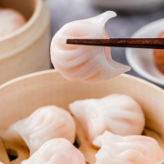 天海藏 广式水晶虾饺 内含整只虾 拍3件60只84.9元包邮 线下6元/只