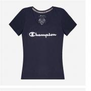 Champion 女士圆领短袖T恤