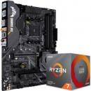 ASUS华硕TUFGAMINGX570-PLUS主板+AMD锐龙Ryzen3700X处理器板U套装3999元包邮