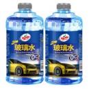 Turtle Wax 龟牌 去油型汽车玻璃水 1.8L 2瓶装 *7件86.3元(合12.33元/件)
