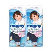 88VIP: 尤妮佳(moony) 男宝宝拉拉裤 XXL26片 *4件