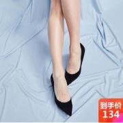 YANXUAN 网易严选 1655026 女士羊反绒高跟鞋134元包邮