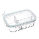 佐昌 玻璃饭盒 410ml 送小麦秸秆叉勺6.8元包邮(需用券)