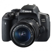 Canon 佳能 EOS 750D EF-S 单反套机
