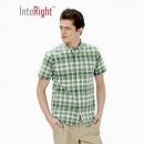 INTERIGHT 5982080 男士休闲短袖衬衫*2件28.5元(合14.25元/件)