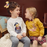 CLASSICTEDDY精典泰迪儿童圆领卫衣*2件59.8元包邮(买二免一,合29.9元/件)