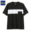 21日0点:GU 极优 317373 男士拼色T恤39元包邮