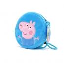 Peppa Pig 小猪佩奇 幼儿圆包 佩奇款/乔治款 9.9元包邮(需用券)¥10
