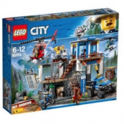LEGO 乐高 CITY 城市系列 60174 山地特警总部