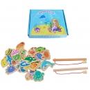 DALA 达拉 儿童钓鱼玩具 28鱼+2杆 盒装 10.9元包邮(需用券)¥11